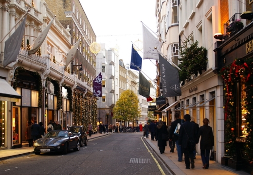 Bond Street: Status of the UK's most exclusive shopping street under threat