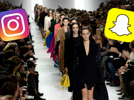 Snapchat falls farther behind Instagram with fashion brands