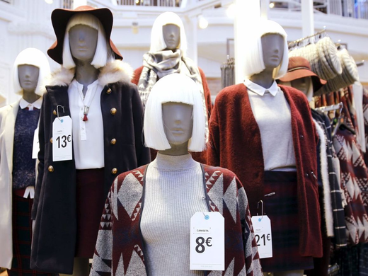 "TO BREAK OUR FAST-FASHION ADDICTION, GREENPEACE SAYS WE HAVE TO EMBRACE ""TRUE MATERIALISM"""