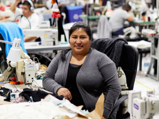 U.S Garment production wouldn't be a thing without immigrants